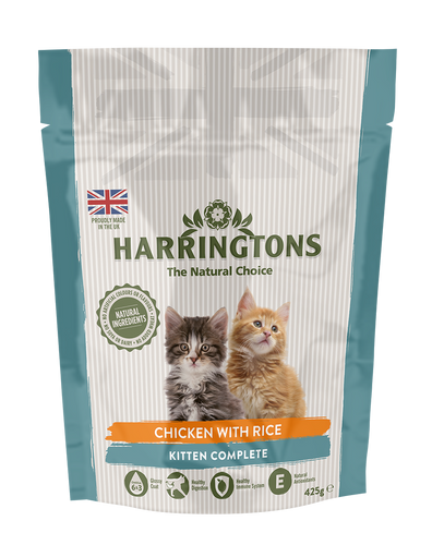 Harringtons Kitten Complete Chicken with Rice Dry Cat Food