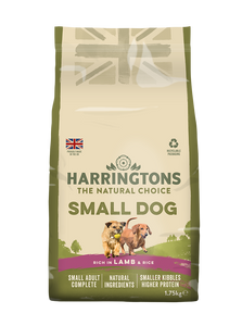 Small Dog Food Complete Rich in Lamb & Rice 4x1.75kg