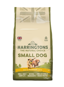 Small Dog Food Complete - Rich in Turkey & Rice