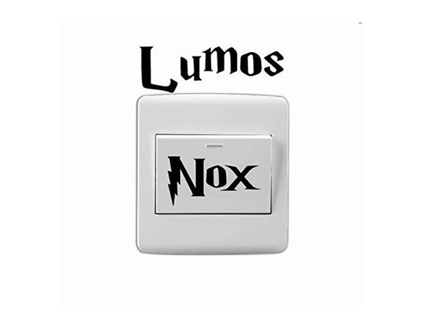 Lumos Nox Stickers (Vinyl Decal)The Jholmaal Store