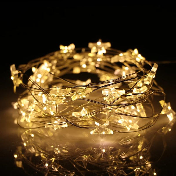 Stars Shaped Fairy Light - 30 LED