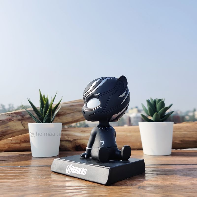 3D Black Panther Bobblehead