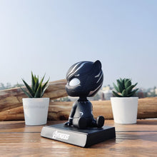 Load image into Gallery viewer, 3D Black Panther Bobblehead