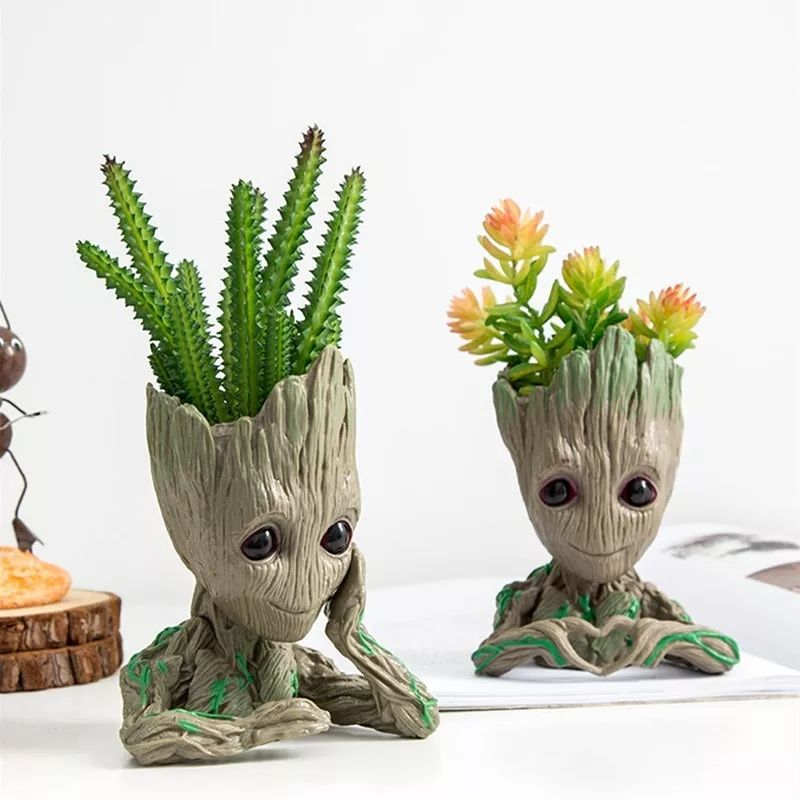 3D Groot Stationary Holder Flowerpot