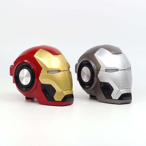 3D Ironman Wireless Speakers (Red)
