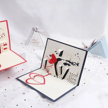 Load image into Gallery viewer, 3D LOVE Sign Pop Up Card (Greeting Card)