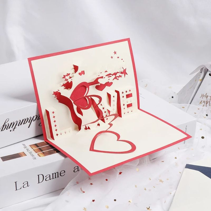 3D LOVE Sign Pop Up Card (Greeting Card)