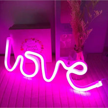 Load image into Gallery viewer, 3D Love Shaped Neon Lamp