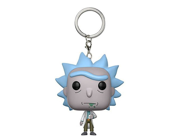 Rick & Morty Pop KeychainThe Jholmaal Store