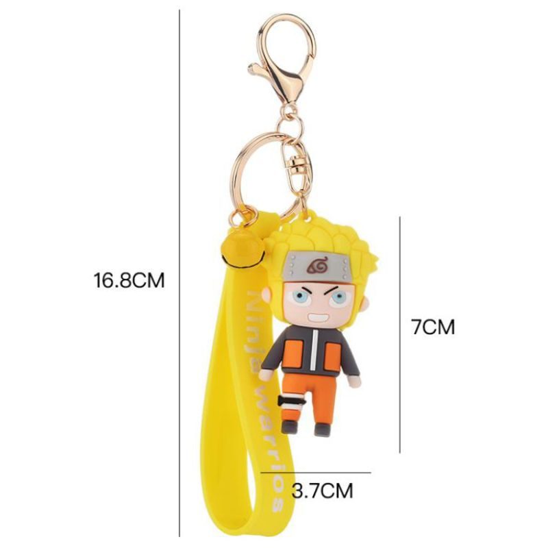 3D Naruto Keychains