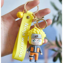 Load image into Gallery viewer, 3D Naruto Keychains