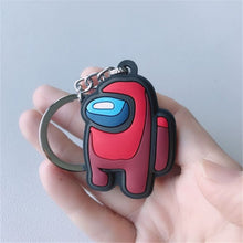 Load image into Gallery viewer, 2D Among Us Pocket Keychains