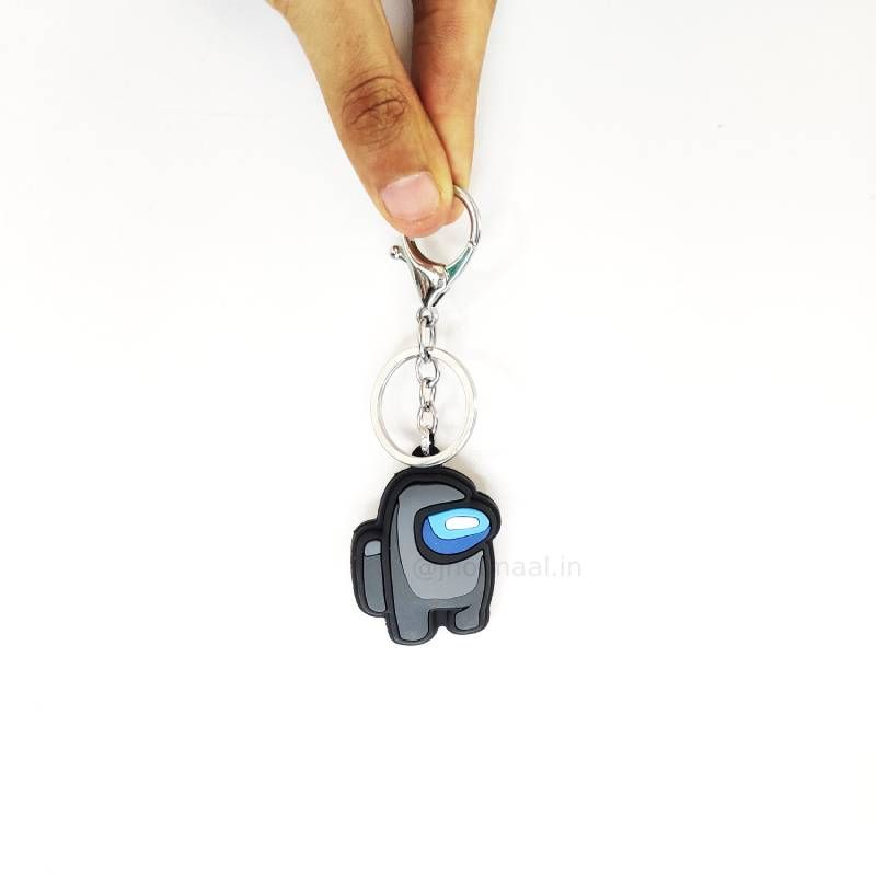 2D Among Us Pocket Keychains