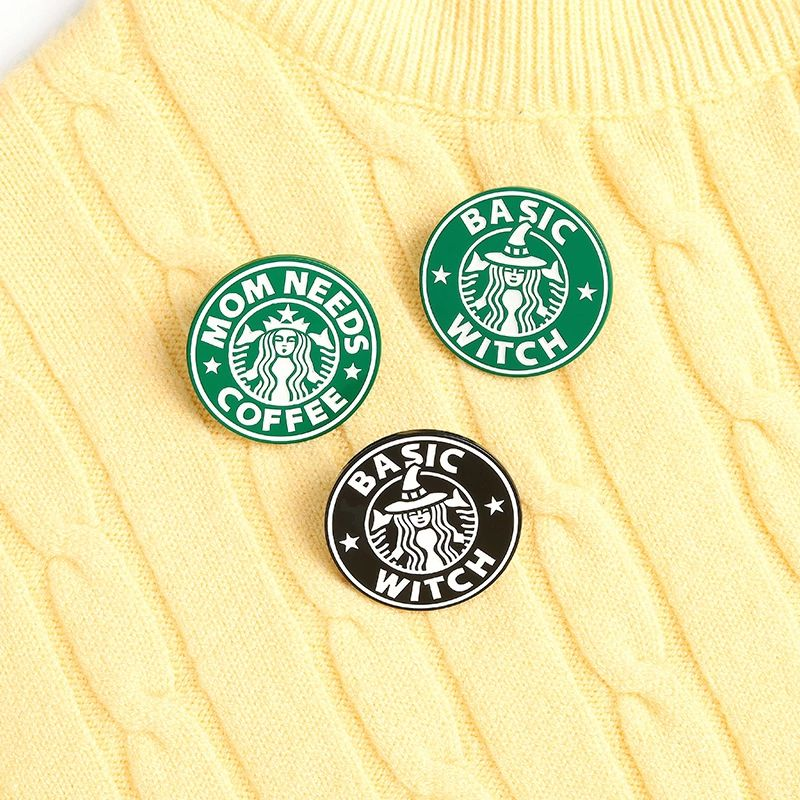 Starbucks Inspired Lapel Pin Badge (1pc)
