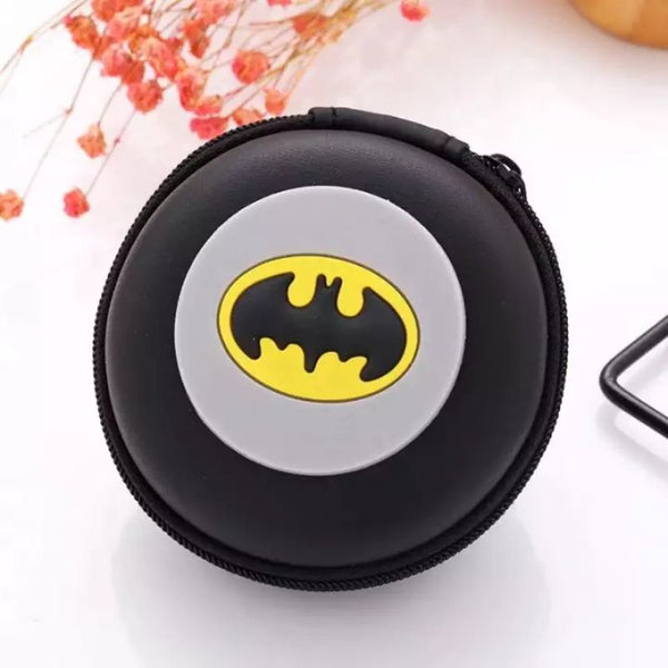 Batman Inspired Earphone Pouch