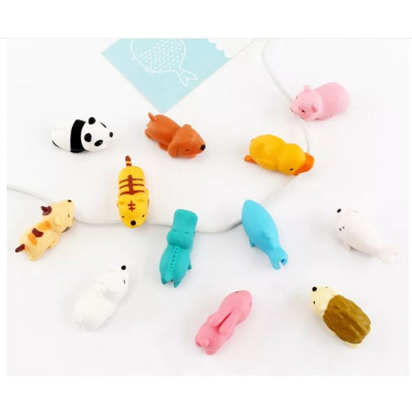 Bite Cable Protector - Animal Shaped
