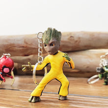 Load image into Gallery viewer, Groot Bruce Lee 3D Keychain