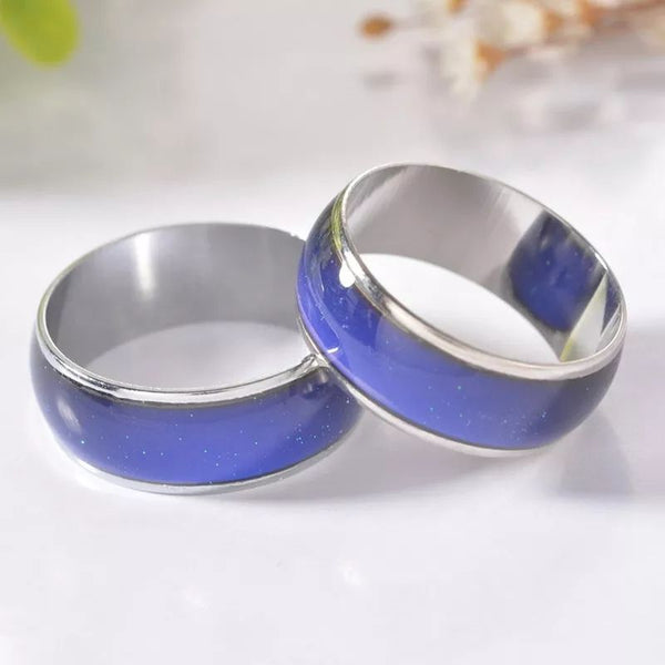 Color Changing Mood Rings Set Of 2