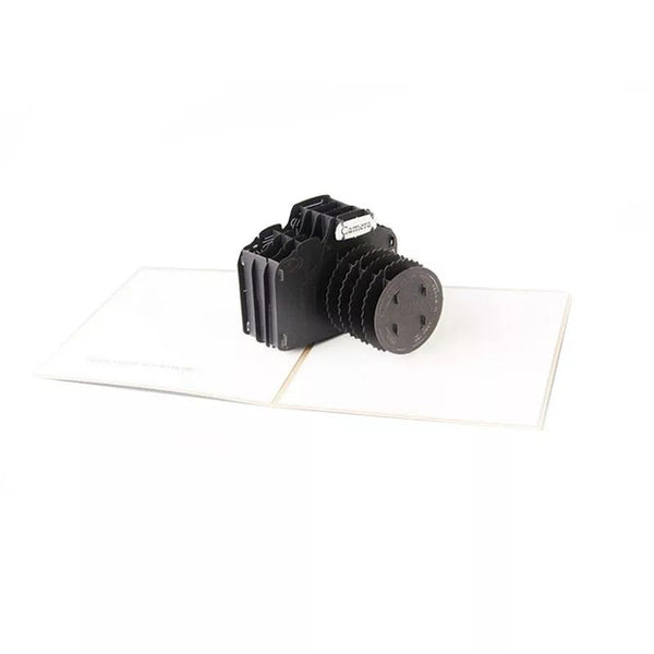 3d Camera Pop Up Card (Greeting Card)
