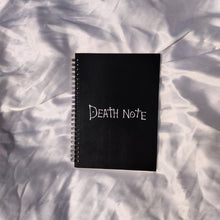 Load image into Gallery viewer, Deathnote Notebooks