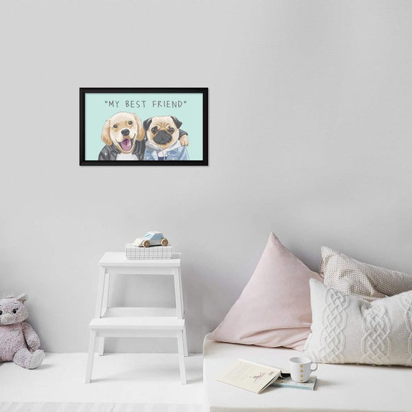 Dogs Best Friends Photo Frame