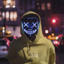 Load image into Gallery viewer, Neon LED Light Up Purge Mask