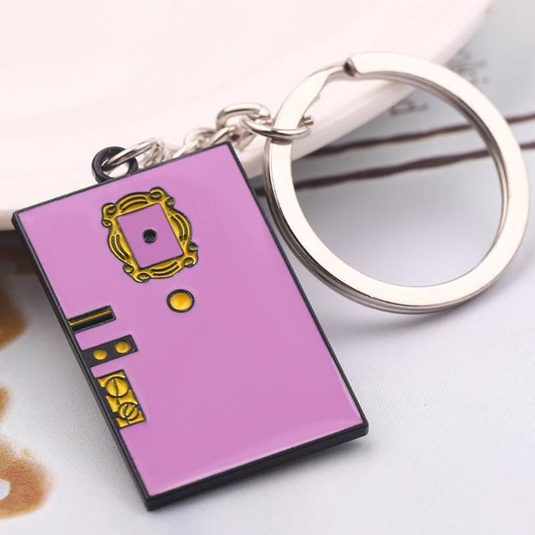FRIENDS Keychain (Metal)