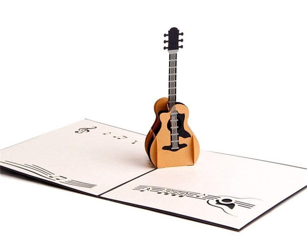3D Guitar Pop up Card (Greeting Card)The Jholmaal Store