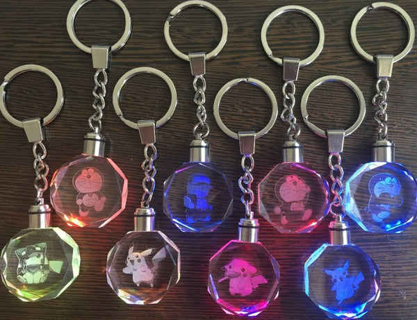 Pokemon LED Keychain CollectibleThe Jholmaal Store