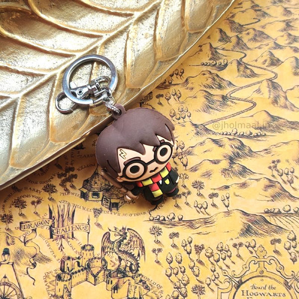 3D Harry Potter Keychains