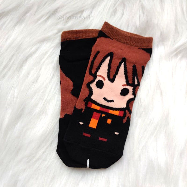 Harry Potter Inspired Short Socks