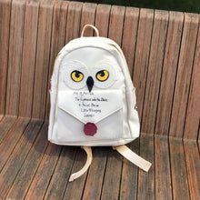 Load image into Gallery viewer, Hedwig Owl Bag (White)