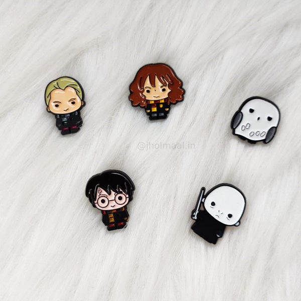Harry Potter Lapel Pins (Set of 5)