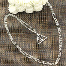 Load image into Gallery viewer, Deathly Hallows Pendant inspired by Harry Potter