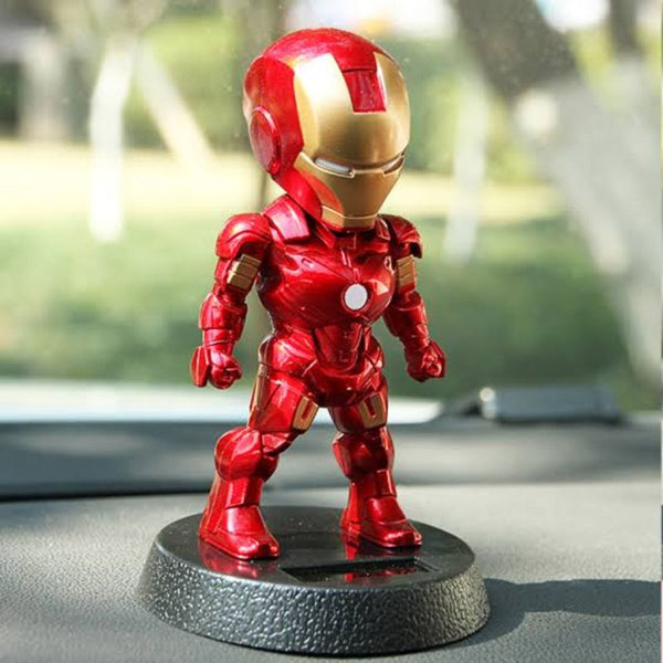 Ironman Bobblehead Solar Powered
