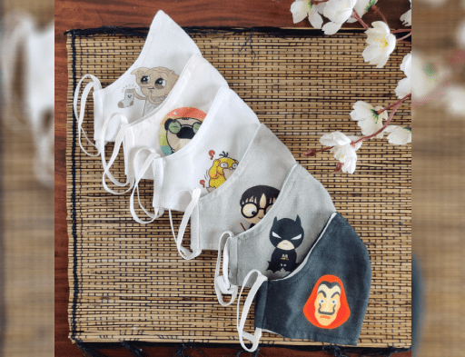 Quirky Face Masks (Set of 3)