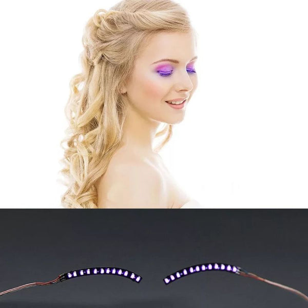 LED Eyelashes Accessory Kit