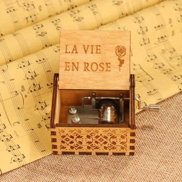 La Vie En Rose Music Box