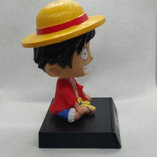 Load image into Gallery viewer, 3D Luffy Bobblehead