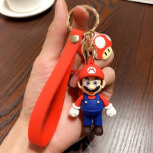 Load image into Gallery viewer, 3D Mario Keychain