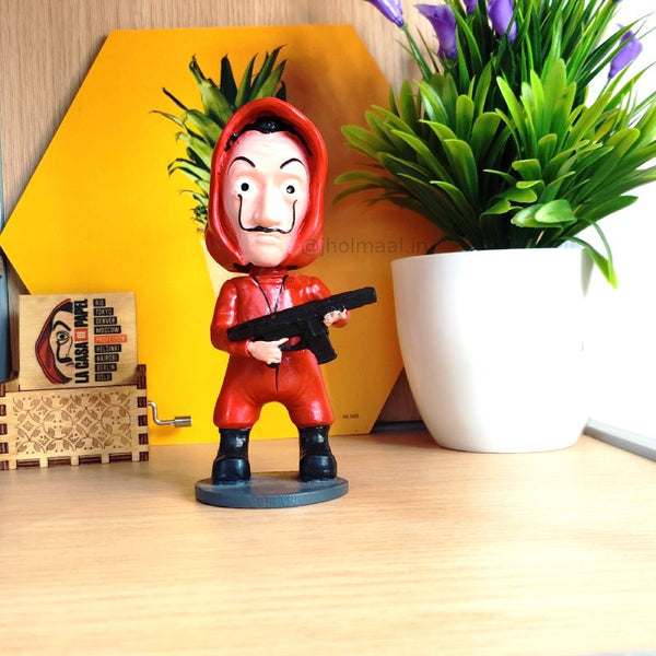 3D Money Heist Bobblehead