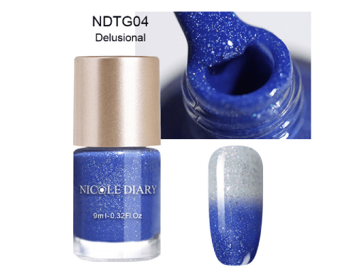 Color Changing Thermal Nailpaint