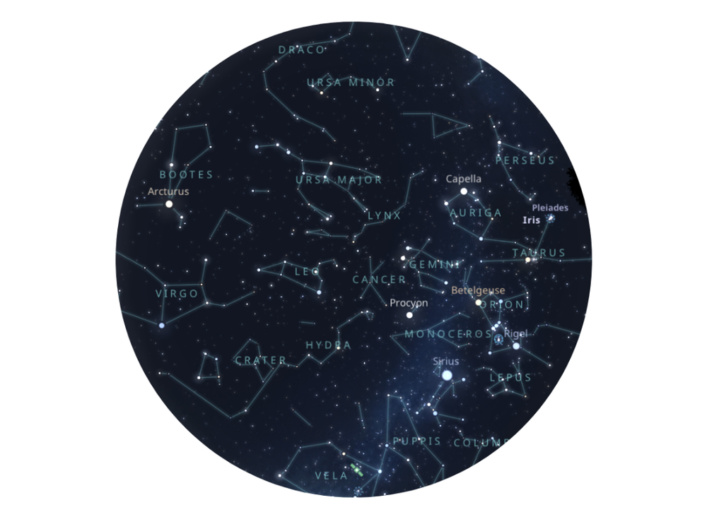 Stars Above Us Framed - Personalised Star Map & Message