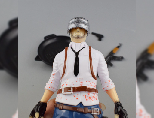 3D PUBG Action Figure Male 7.5