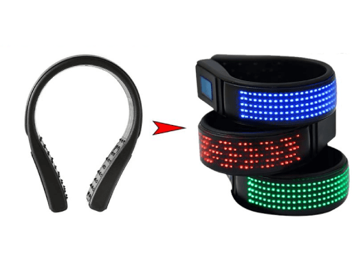 Rechargable LED Shoe Clip BlueThe Jholmaal Store