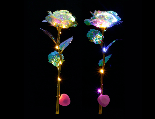 Galaxy Rose with LED