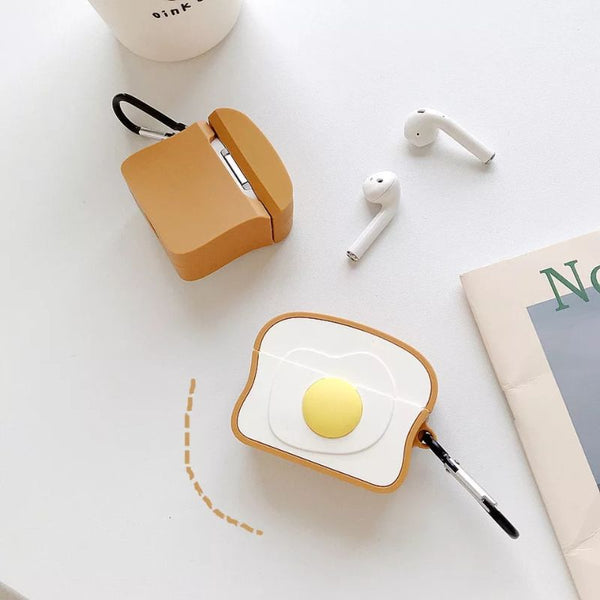 Omelette Toast Airpods Case Cover