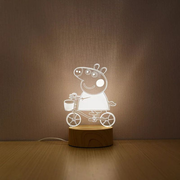 Peppa Pig DSLR Night Lamp Hologram