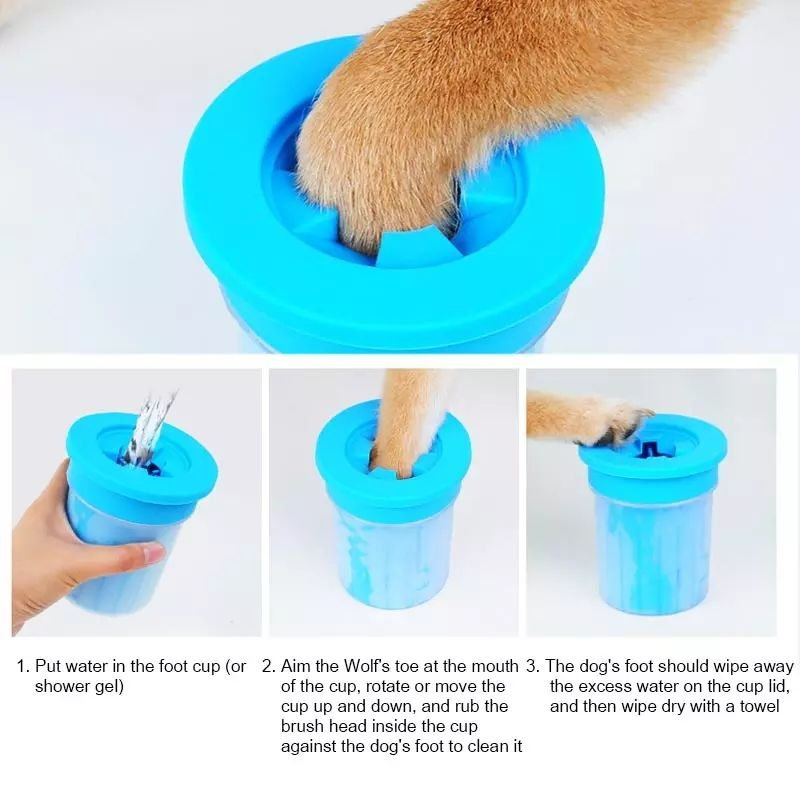 Muddy Paw Cleaner Footwasher Cup For Pets