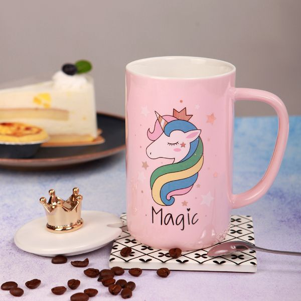 3D Unicorn Crown Mug (1 piece)